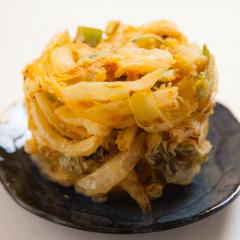 天ぷら かき揚げ